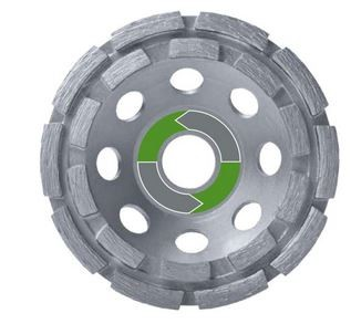 Diamant-Schleiftopf Typ Premium 2R -für Granit und Beton